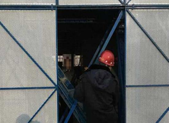 低碳钢爬架网