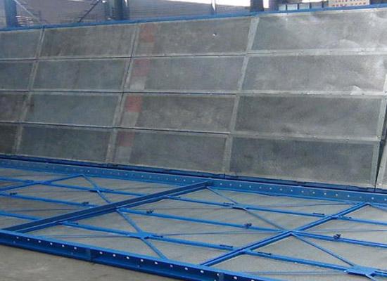 爬架网板制作过程视频