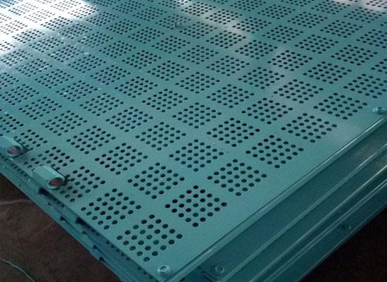 楼层建筑爬架网板