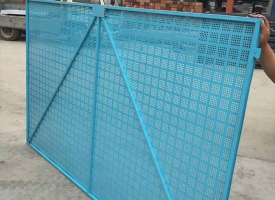 外墙爬架网片怎么安装图解